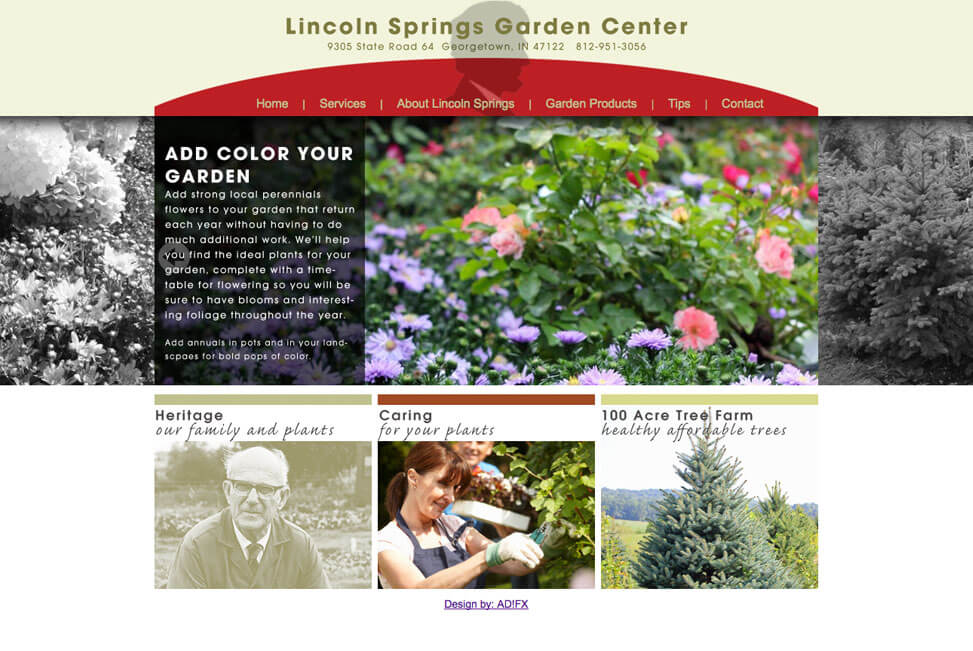 Lincoln Springs Garden Center Louisville Kentucky