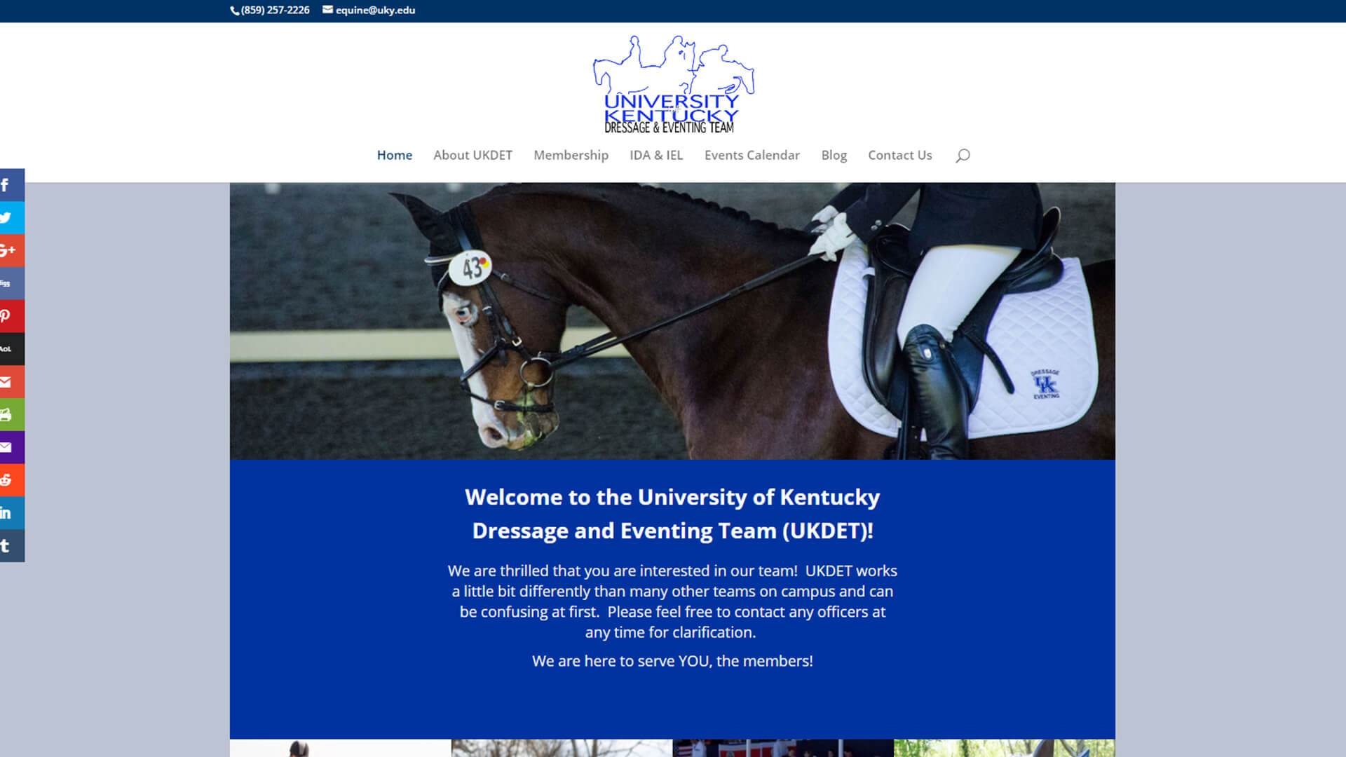 UK Dressage and Eventing